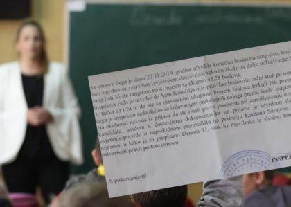 Ostala bez posla zbog sumnjivog bodovanja, evo šta je inspekcija utvrdila: Nastavnica iz Sarajeva ogorčena nakon konkursa u školi