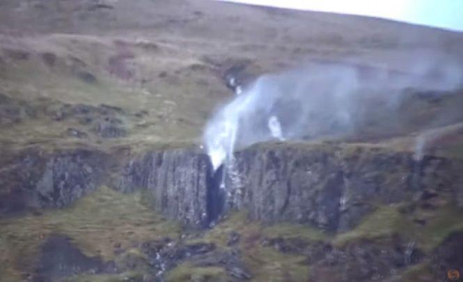 Strahovita snaga prirode: Pogledajte kako je oluja u Škotskoj promijenila pravac vodopada