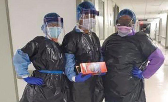 Nedostaje opreme: Medicinske sestre se od koronavirusa štite vrećama za smeće