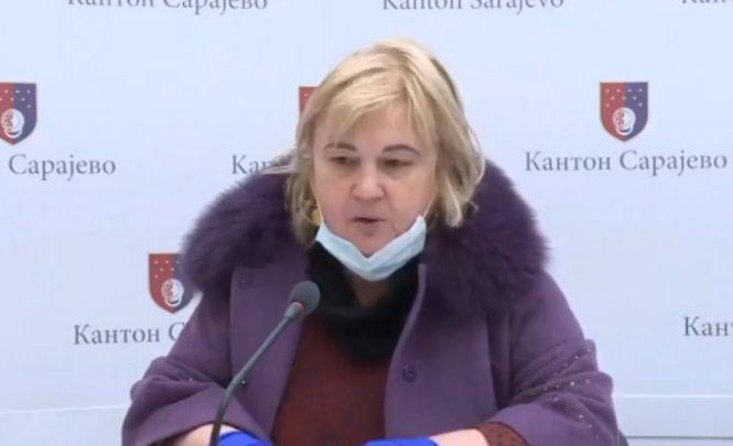 Predsjednica Kriznog štaba KS : Novi klaster u Sarajevu zbog sastanka sredinom marta