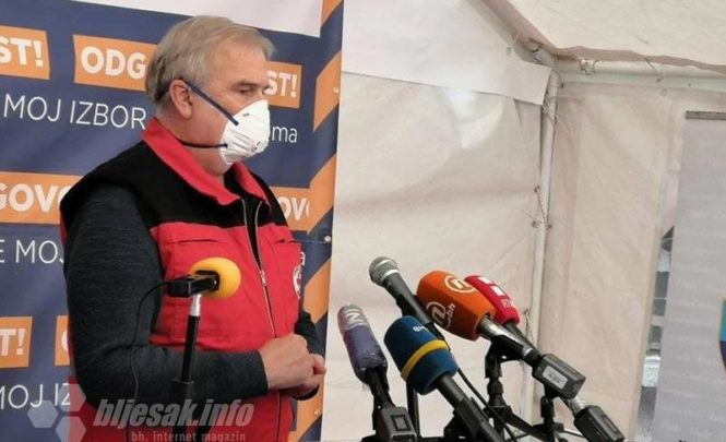 Krizni štab HNK: Potvrđena 33 slučaja, pet osoba na respiratoru, žarište koronavirusa u Konjicu