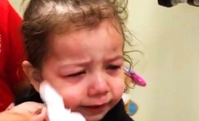 Curica slijepa od rođenja: Pogledajte kako je reagirala nakon što je progledala