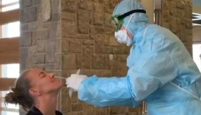 Teniserka objavila snimak: Evo kako izgleda testiranje na koronavirus