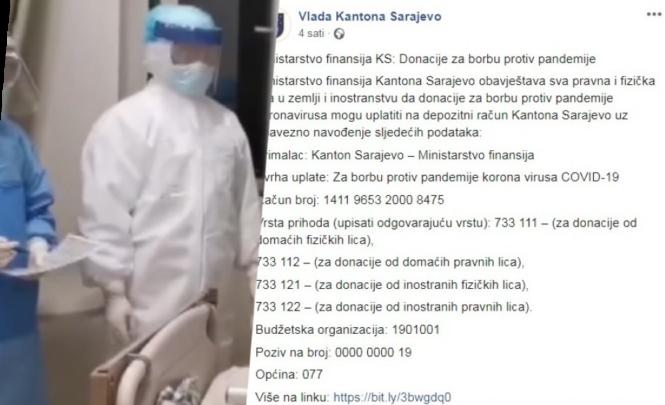 Nevjerovatno: Ministar Jasmin Halebić traži donacije i novac od građana u borbi protiv korona virusa!?