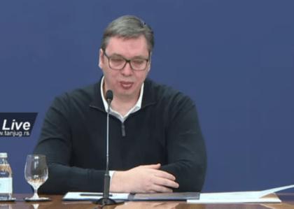 Vučić najavio radikalne mjere u Srbiji: Zabrana kretanja 24 sata ako građani ne promijene ponašanje
