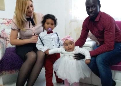 Oženio se Gračankom Irmom: Senegalac u BiH uz posao našao i ljubav svog života