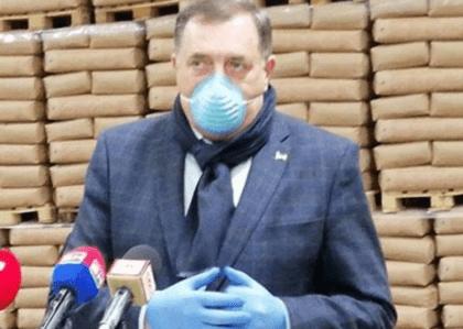 Dodik: Ruska pomoć pripada Srpskoj, niko drugi je nije ni tražio