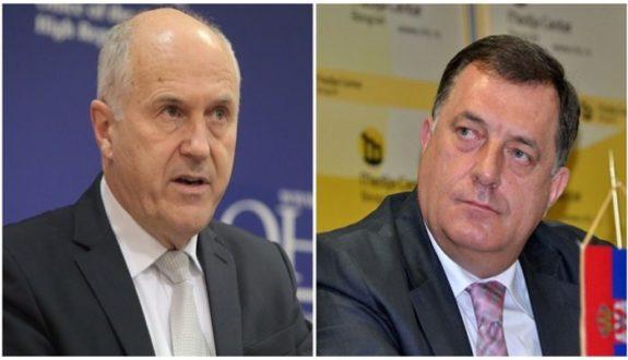 Novi Inzkov šamar lideru SNSD-a: Imaju rok od šest mjeseci da se ukloni ploča ratnom zločincu ili slijedi zabrana putovanja Dodiku u zemlje EU